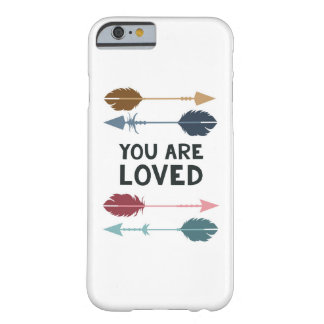 You are Loved - Multi Colored - Phone Case Barely There iPhone 6 Case