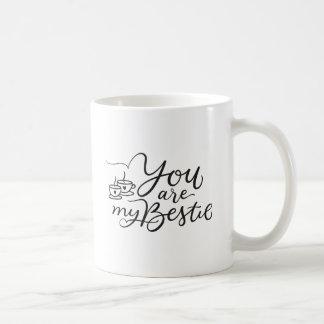 You are My Bestie Mug Best Friend Coffee Cup