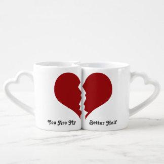 you are my better half couple's mug