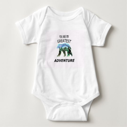 You Are My Greatest Adventure Baby Bodysuit