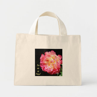 You are My Happy gifts Rose Tote Bags Valentines