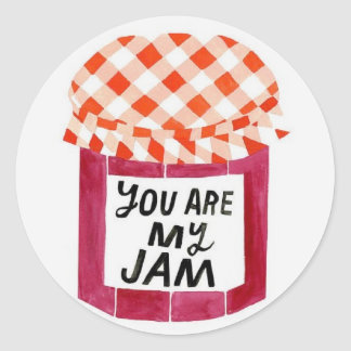 You are my jam sticker