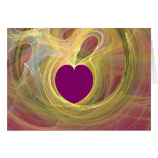 You are my purple heart_Card_by Elenne Boothe Card
