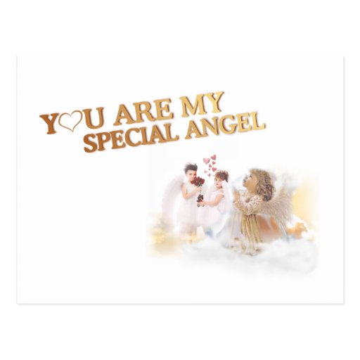 You Are My Special Angel – Customize It! Post Card