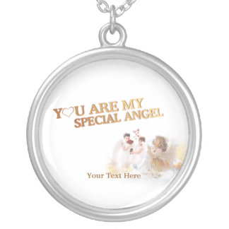 You Are My Special Angel – Customize It! Silver Plated Necklace