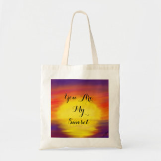 You are My Sunset tote