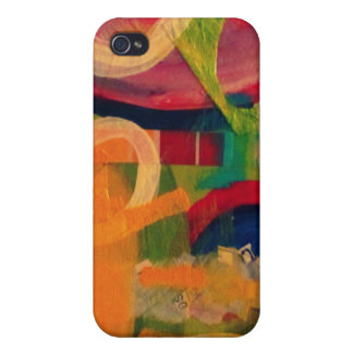 """You are my sunshine"" abstract art iPhone 4/4S Cases"