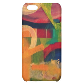 """You are my sunshine"" abstract art Case For iPhone 5C"