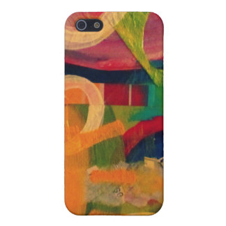 """You are my sunshine"" abstract art Cover For iPhone 5"