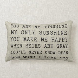 YOU ARE MY SUNSHINE | Accent Pillow