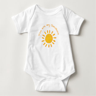 You are my Sunshine Baby Outfit Baby Bodysuit
