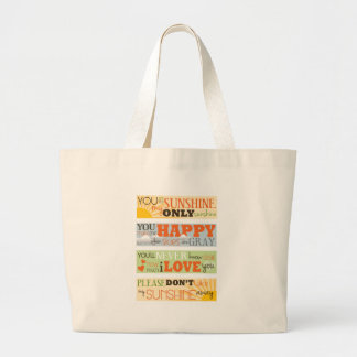 You Are My Sunshine Canvas Bags