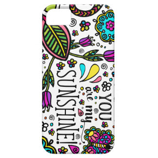 You are my Sunshine Bold Colorful Butterfly Art iPhone 5 Covers