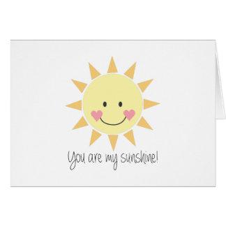 You Are My Sunshine! Card