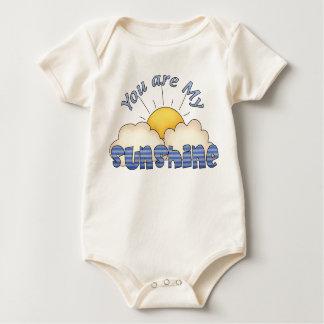 you are my sunshine clothing baby bodysuit