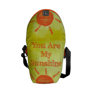 You Are My Sunshine Courier Bag