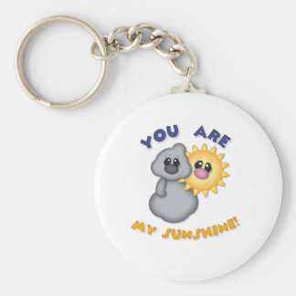 You Are My Sunshine Design Key Ring