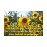 You are my sunshine gallery wrapped canvas