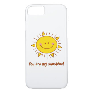You Are My Sunshine Happy Cute Smiley Sunny Day iPhone 8/7 Case
