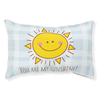 You Are My Sunshine Happy Cute Smiley Sunny Day Pet Bed