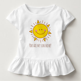 You Are My Sunshine Happy Cute Smiley Sunny Day Toddler T-Shirt