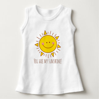 You Are My Sunshine Happy Cute Sunny Baby Girl Dress