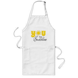 You are my sunshine long apron