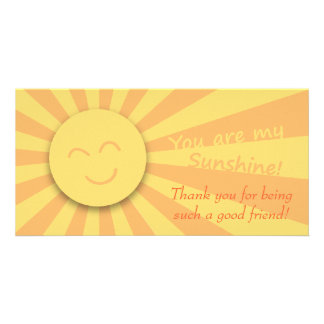 You are my Sunshine! Photo Card