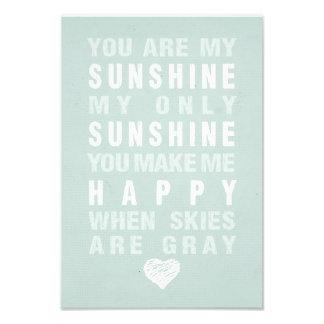 You Are My Sunshine Photo