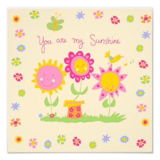 You are my sunshine photograph