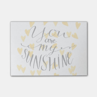 You Are My Sunshine Post-it Notes