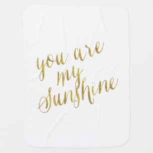 gold quote blankets personalised blankets zazzle uk
