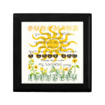 You are my Sunshine Small Square Gift Box