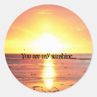You are my sunshine..... Sticker