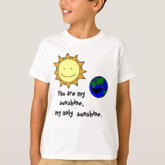 You are my sunshine tshirts