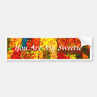 You Are My Sweetie Bumper Sticker