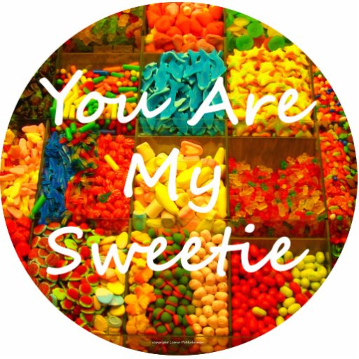 You Are My Sweetie Photo Cut Outs
