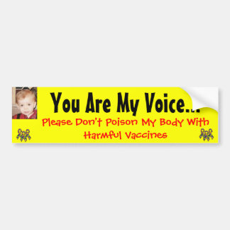 You Are My Voice..., Please... Bumper Stickers