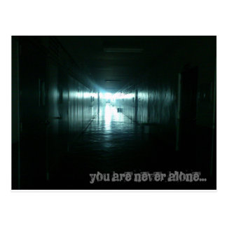 You are Never Alone Postcard
