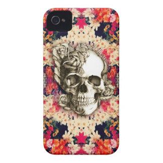 You are not here Day of the Dead floral art Case-Mate iPhone 4 Case