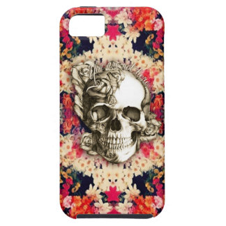 You are not here Day of the Dead floral art iPhone 5 Case