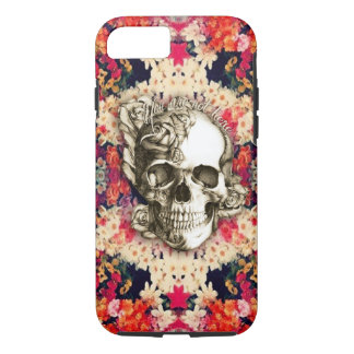 You are not here Day of the Dead floral art iPhone 7 Case