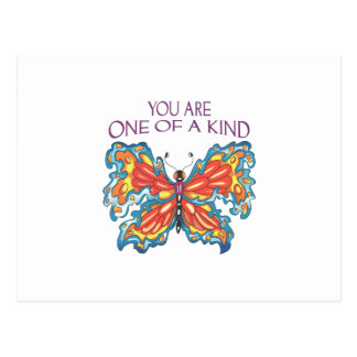 You Are One Of A Kind Postcard