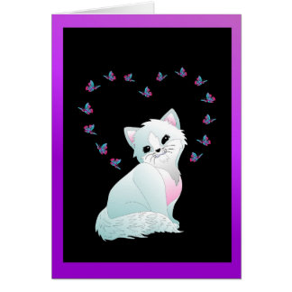 You Are Purr-fect Cute Cat Greeting Card