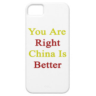 You Are Right China Is Better iPhone 5 Cases