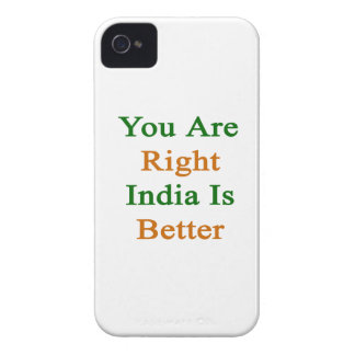 You Are Right India Is Better iPhone 4 Cover