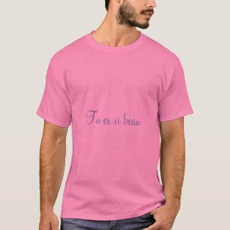 """You Are So Beautiful "" MEN'S_Date-Night_ T-Shirt"