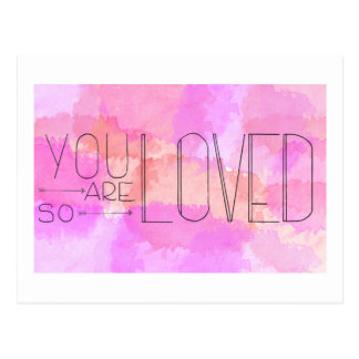 You Are So Loved Postcard