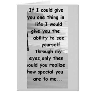 YOU ARE SO **SPECIAL TO ME** LOVE CARD FOR YOU