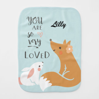 You Are So Very Loved Baby Burp Cloth